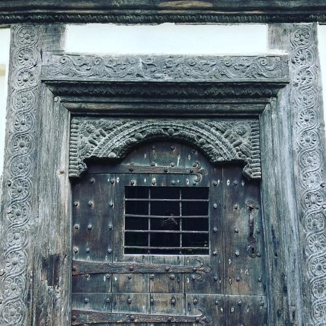 Doorway of the Reader's House, Ludlow